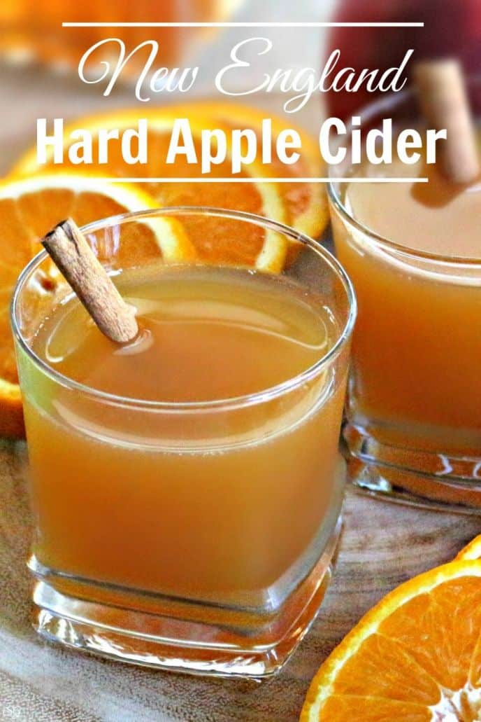 Hard Apple Cider New England Style