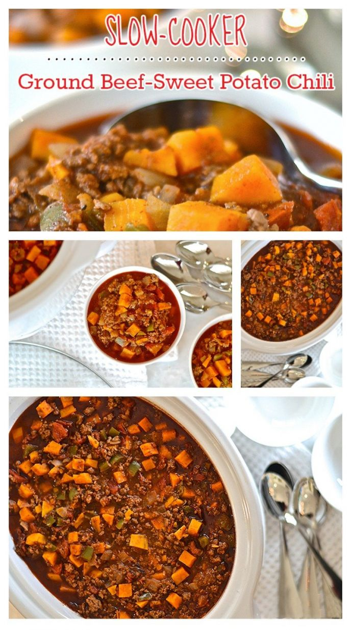 A delicious sweet potato chili recipe! Check out this easy sweet potato beef chili recipe to serve your family and friends. A perfect chili for a chilly day!