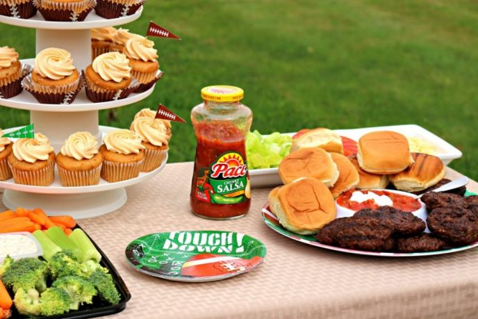 A Football Party Secret: Pace® Yourself!