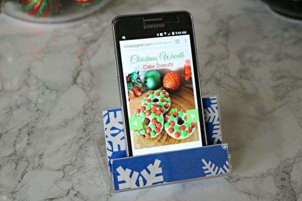Kitchen Smartphone Holder