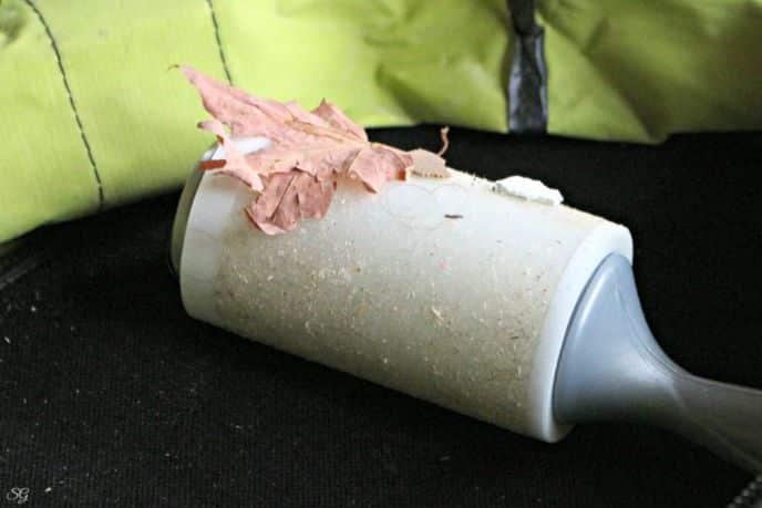 50% stickier lint roller for workshop messes