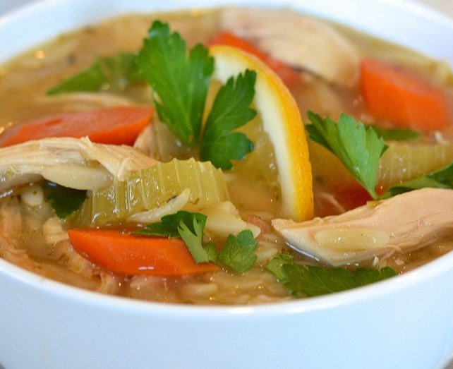 Orzo Soup Recipe with Chicken!