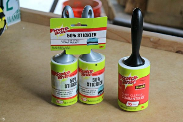 Scotch Brite Lint Rollers 50% Stickier