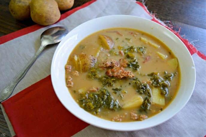 Zuppa Toscana Soup Olive Garden Copy Cat Recipe