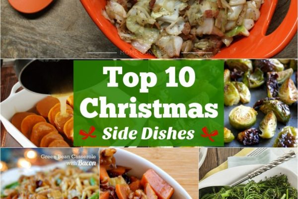 The top 10 Christmas side dishes for your holiday feast!