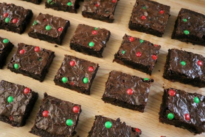 Chocolate Holiday Brownies