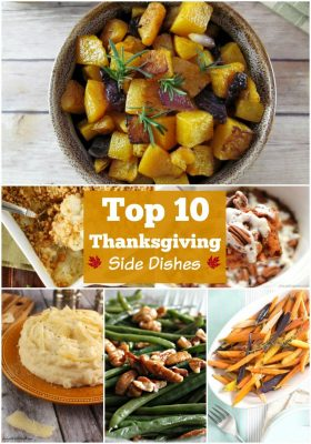 The best Thanksgiving side dishes all in one place! Check out these 10 best Thanksgiving side dishes to serve at your holiday feast!