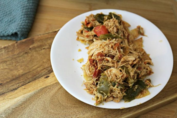 Simple Chicken Chilaquiles Recipe in Crock Pot