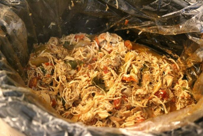 Slow Cooker Chicken Chilaquiles Recipe