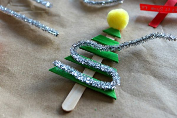 Easy DIY Christmas Tree Ornament