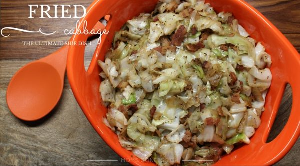 Easy Fried Cabbage Christmas Side