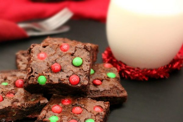 Chocolate Fudge Holiday Brownies Recipe