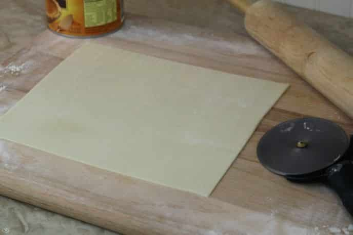 Pumpkin Pie Cookie Crust Dough