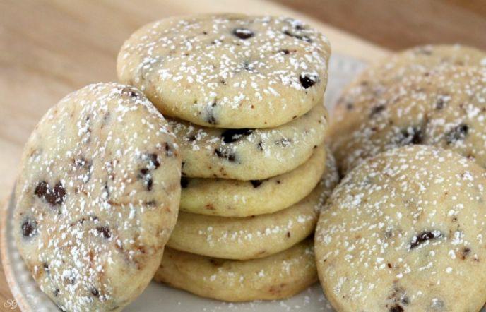 Easy Cranberry Shortbread Cookies