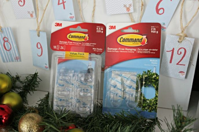 Command Hooks for Holiday Decorating