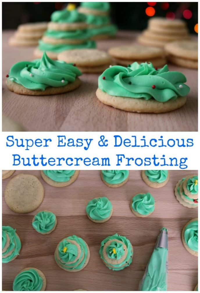 Easy buttercream frosting recipe. This is the best buttercream recipe, it's so easy to make and delicious. Check out and learn how to make this simple buttercream recipe for all your cakes, cookies and other creations!