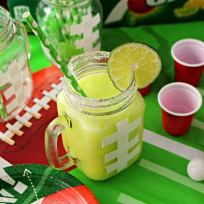 7UP Game Day Margaritas and Mocktails