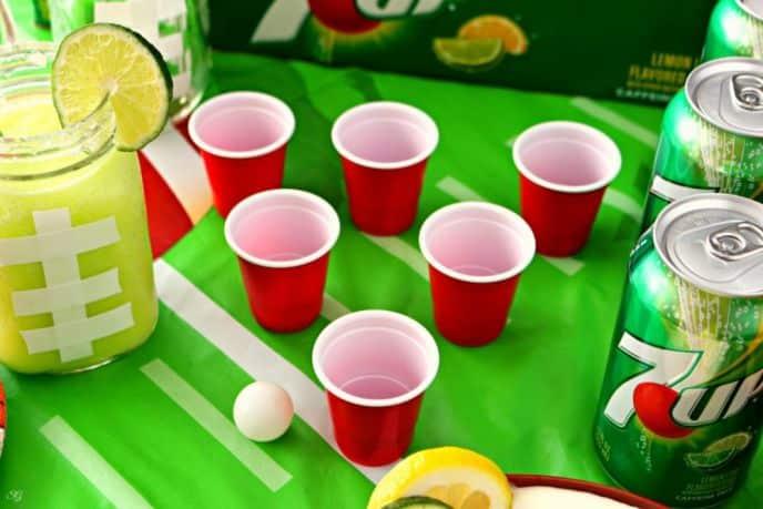 Easy Halftime Game, Halftime Pong
