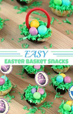 Easy Easter Basket Snacks