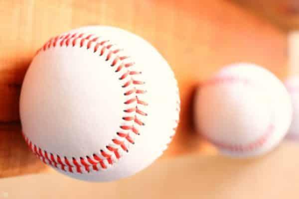 Baseballs to make Baseball Hat Rack