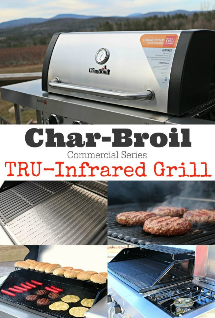 Check out our new Char-Broil TRU-Infrared Commercial Series grill! We're grilling like crazy over here, and the season has just begun! See how easy it is to make perfect grilled food every night!