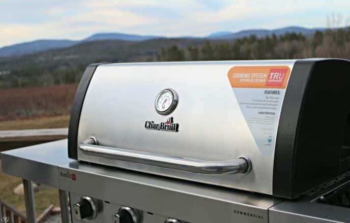 Char-Broil 4 Burner Commercial TRU Infrared Grill