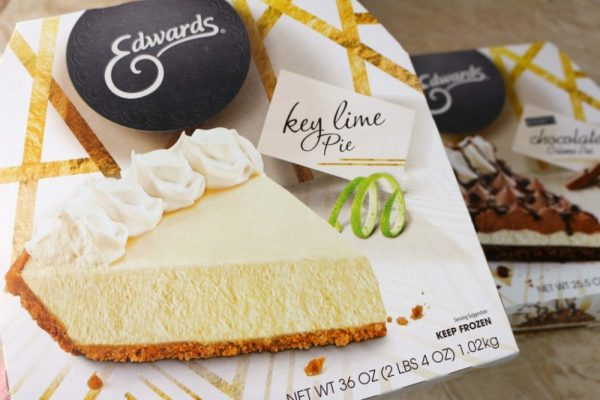 Key Lime Pie made by Edwards