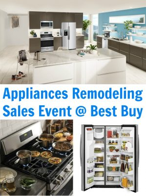 Check out the GE Appliances Remodeling Sales Event at Best Buy!