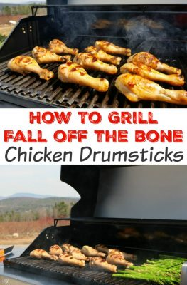 How To Grill Chicken Drumsticks. Cooking the perfect, fall off the bone chicken drumsticks on the grill is easy when you follow these simple instructions!