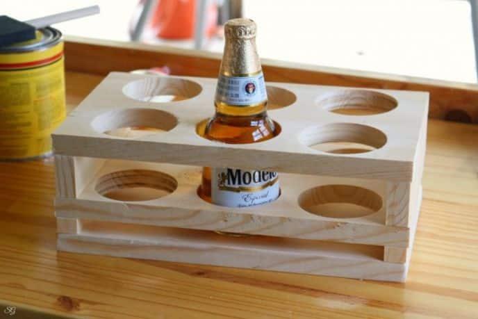 DIY Beer Holder Project