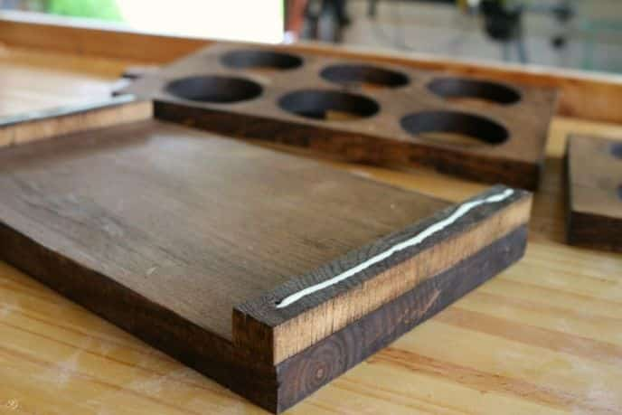 Building a Wooden 6 Pack Beer Caddy