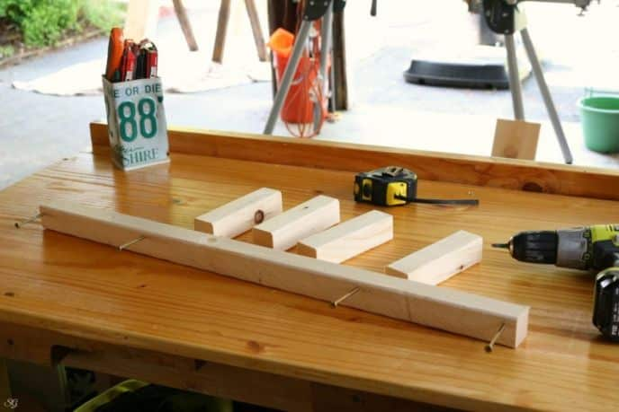 Floating Shelf Frame Assembly