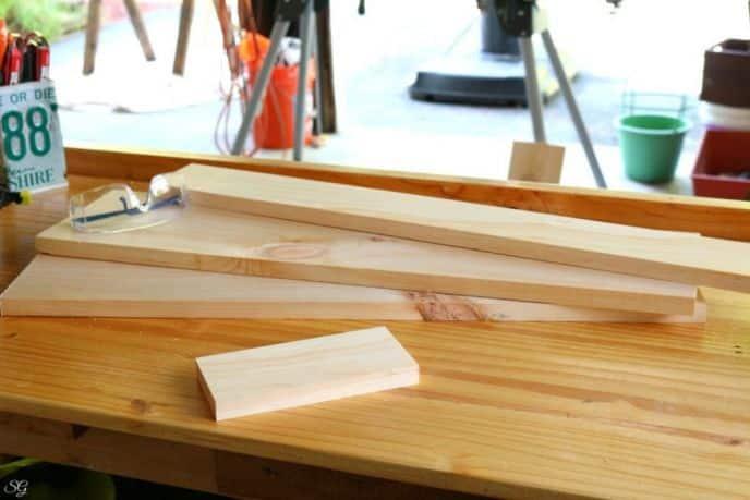 Floating Shelf Materials