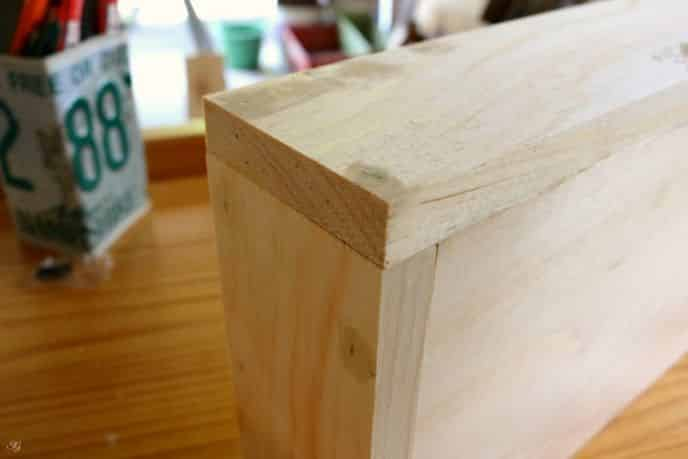 Filling Nail Holes with Wood Putty