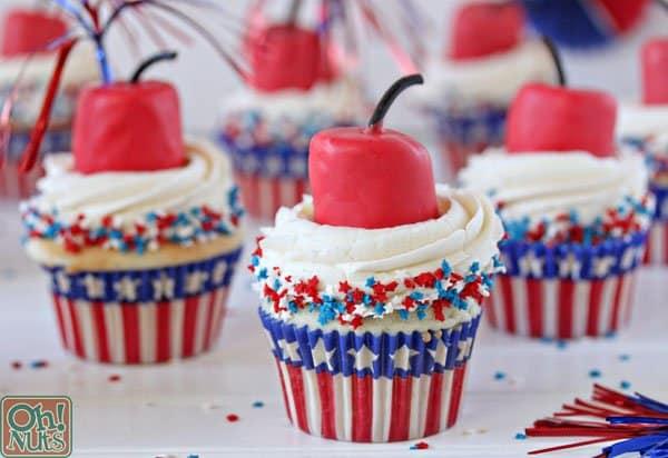 Firecracker Cupcake Recipe