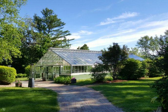 The Common Man Inn Greenhouse Wedding