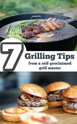Grilling tips from a self proclaimed grill master! Use these tips to grill perfect food all year long!