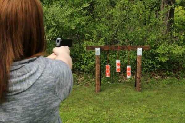 DIY pellet gun target