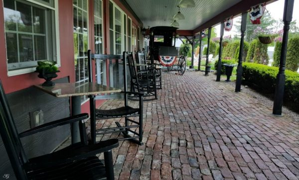 The Common Man Foster's Hall Patio in Plymouth NH