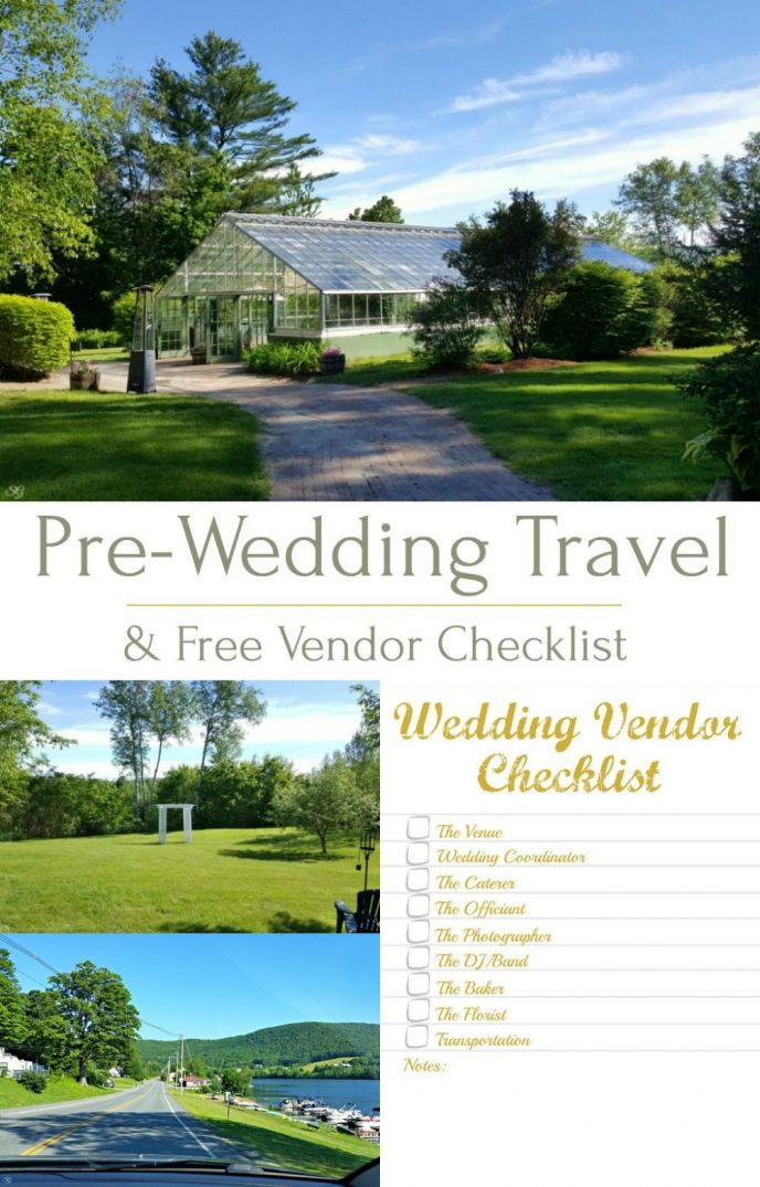 Free Wedding Vendor Checklist! Check out our free checklist for your wedding vendors and see where the road is taking us during our pre-wedding travel!