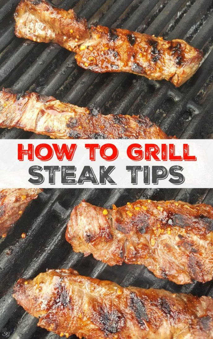 How To Grill Steak Tips. Cooking the perfect steak tips on the grill is easy when you follow these simple instructions!