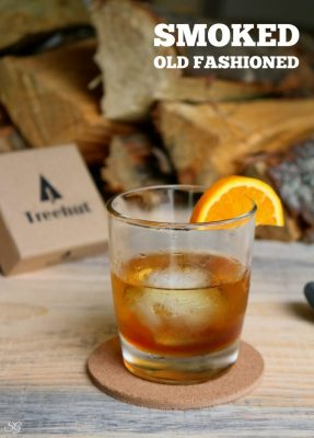 Old Fashioned Recipe Smoked! A delicious smoked twist on the classic Old Fashioned whiskey drink!