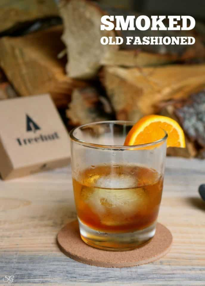 Smoked Old Fashioned Wood