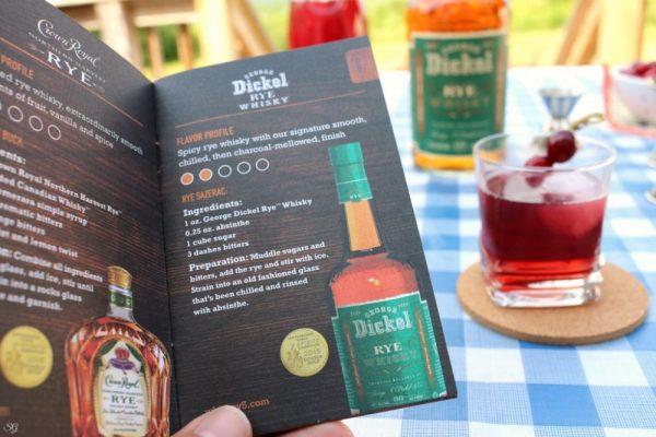 George Dickel Rye Whiskey Recipes