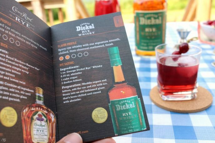 George Dickel Rye Whiskey Recipes