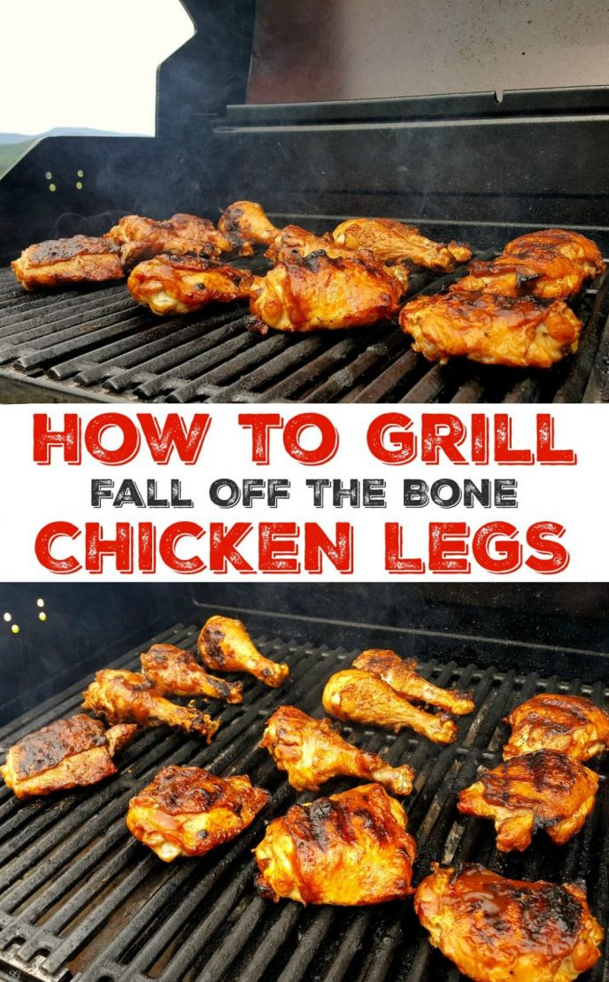 Grill chicken legs! Learn how to grill chicken legs that fall off the bone and taste so good you'll want to cook them every night! Fire up the BBQ and lets see how to grill thighs and drumsticks!