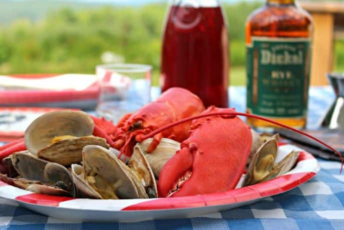 A cocktail to pair with Maine lobster and clams.