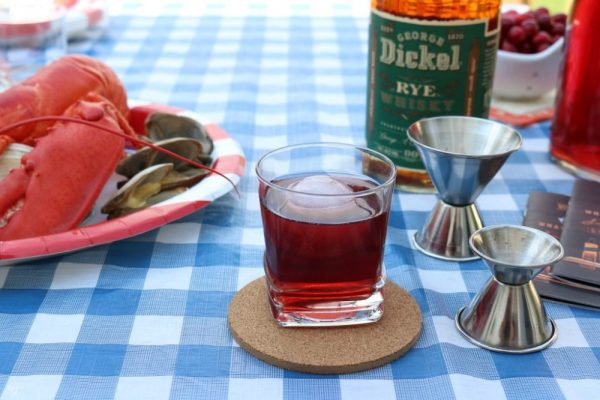 Rock Lobster Cranberry Whiskey Drink