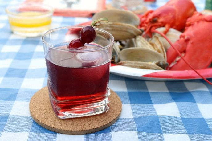 Rock Lobster Cocktail Recipe with Spicy George Dickel Rye Whiskey
