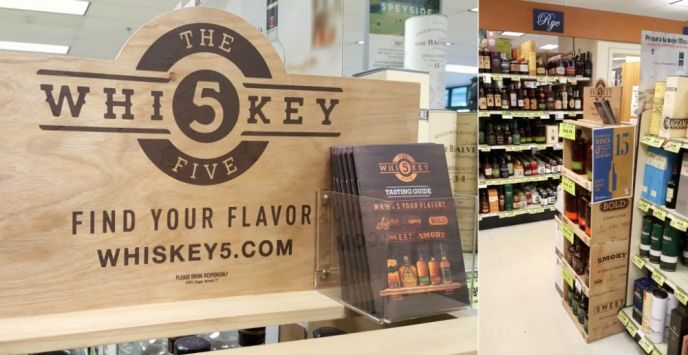 George Dickel Whiskey 5 Flavor